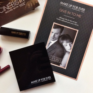 MAKE UP FOR EVER & Fifty Shades of Grey