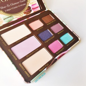 Too Faced Sugar Pop palette colors